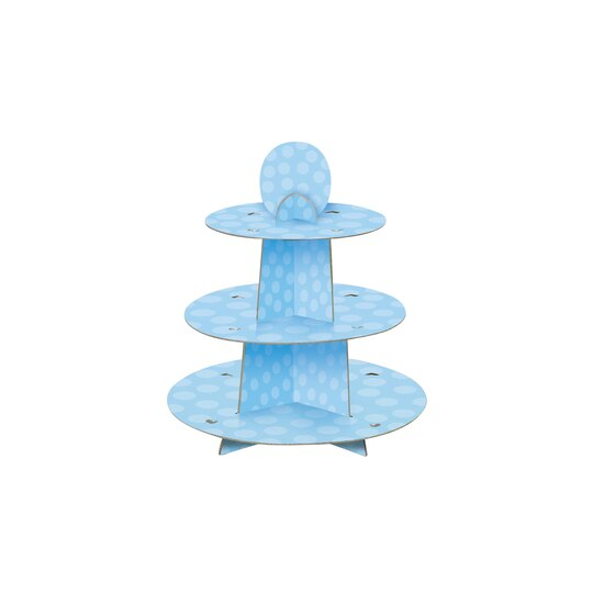 Blue Cupcake Stand Blue Party Decorations