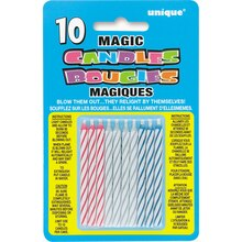 Trick Birthday Candles, Assorted 10ct