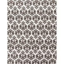 Black Damask Vellum Paper 5 Pack by Recollections