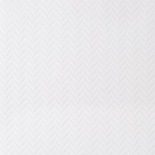 Chevron Embossed Paper by Recollections, White