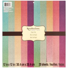 Signature Ombre Glitter Paper Pad by Recollections