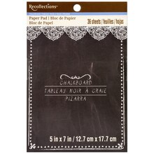 Chalkboard Paper Pad by Recollections