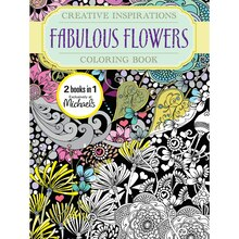 Creative Inspirations Fabulous Flowers Coloring Book
