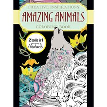 Creative Inspirations Amazing Animals Coloring Book