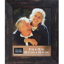 "Black Barnwood Frame by Studio Decor Simply Essentials, 8"" x 10"""