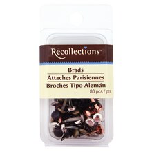 Metallic Medium Circle Brads by Recollections
