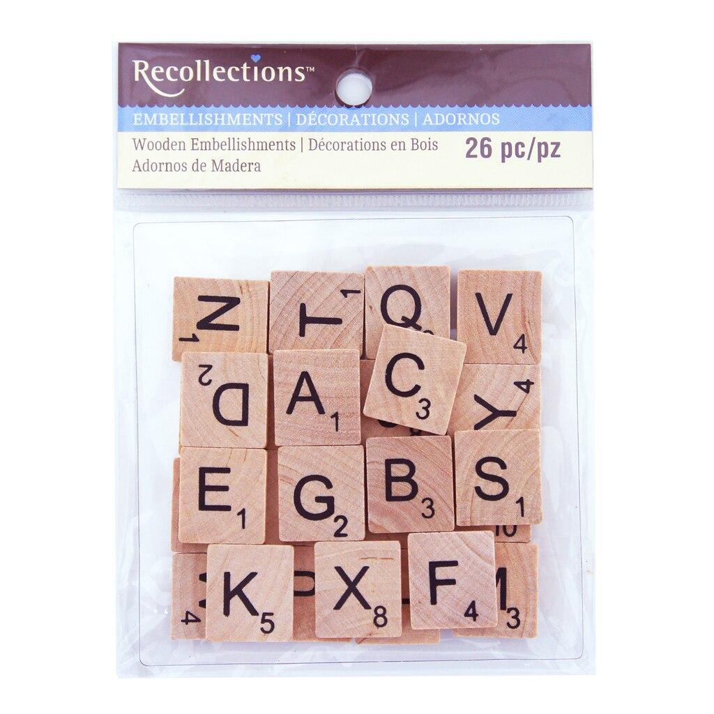 Craft Scrabble Tiles Michaels
