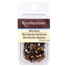 Metallic Star Mini Brads by Recollections