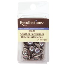 Iridescent Rhinestone Brads by Recollections, 8mm