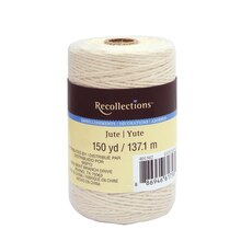 Ivory Jute Spool by Recollections
