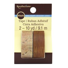 Wood Grain Washi Tape by Recollections