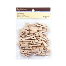 Small Clothespin Embellishments by Recollections, Natural