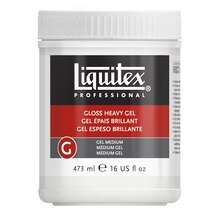 Liquitex Gloss Heavy Gel Medium, 16 oz.