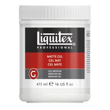 Liquitex Matte Gel Medium, 16 oz.