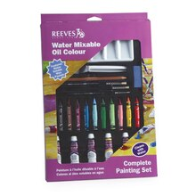 Reeves Water Mixable Oil Color Complete Set
