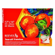 "Reeves Tear-Off Palette Paper Pad, 12"" x 16"""