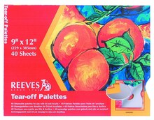 "Reeves Tear-Off Palette Paper Pad, 9"" x 12"""