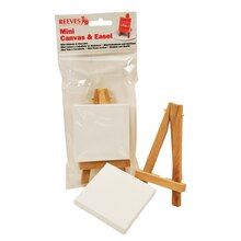 Reeves Mini Canvas & Easel Set