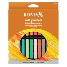 Reeves Soft Pastels, Set of 24