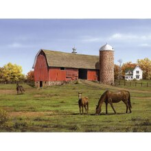 Reeves Paint by Numbers Artists Collection, Horse and Barn