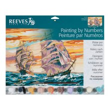 Reeves Large Paint by Numbers, Sailing Ships