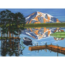 Reeves Large Paint by Numbers, Lake Painting