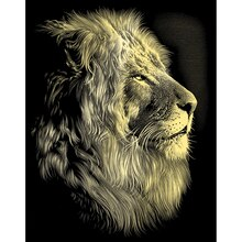 Reeves Scraperfoil Gold, Lion