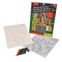 Reeves Medium Color Pencil by Number, Horse & Foal