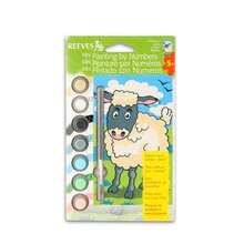 Reeves Mini Paint by Numbers, Lamb