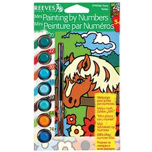 Reeves Mini Paint by Numbers, Pony