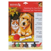 Reeves Medium Paint by Numbers, Just Good Friends