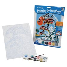 Reeves Medium Paint by Numbers, Dolphins
