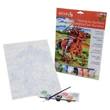 Reeves Medium Paint by Numbers, Knight