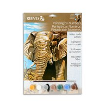 Reeves Medium Paint by Numbers, Elephant