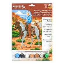Reeves Medium Paint by Numbers, Cowboy