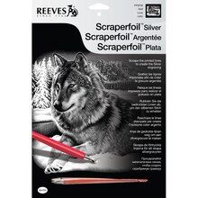 Reeves Scraperfoil Silver, Wolf