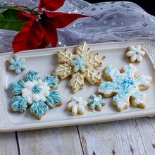 Pint Sized Baker Snowflake Cookies, medium