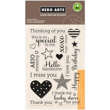 Hero Arts Clear Stamps, Year Round Sentiments