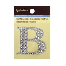 Bling Monogram B by Recollections