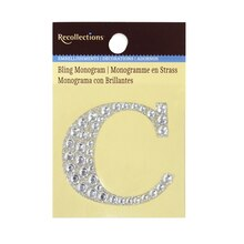 Bling Monogram C by Recollections