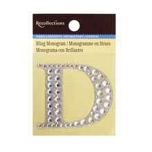 Bling Monogram D by Recollections