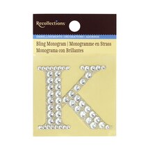 Bling Monogram K by Recollections