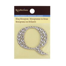 Bling Monogram Q by Recollections