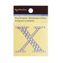 Bling Monogram X by Recollections