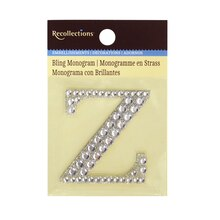 Bling Monogram Z by Recollections