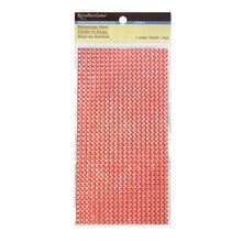 Resin Rhinestone Sheet by Recollections, Coral