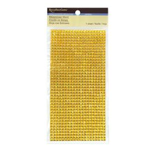 Resin Rhinestone Sheet by Recollections, Yellow