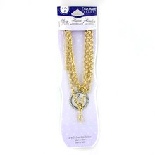 Blue Moon Beads Story Lockets Rolo Chain, Gold