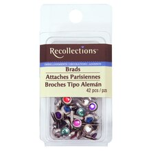 Medium Bright Crystal Brads by Recollections