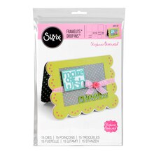 Sizzix Framelits Stephanie Barnard Drop-Ins Card Die Set